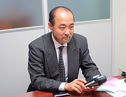 代表取締役の佐藤 肇様